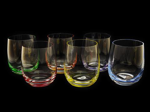 Набор цветных стаканов для виски Rona «Rainbow»