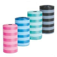Trixie Пакеты для уборки за собаками 20 шт в рулоне. 1 рулон. Цветные