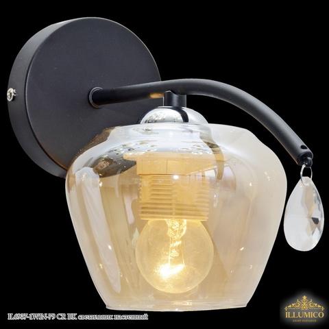 IL6937-1WIN-79 CR BK светильник настенный