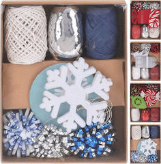 WRAPPING DECORATION SET 14 4AS