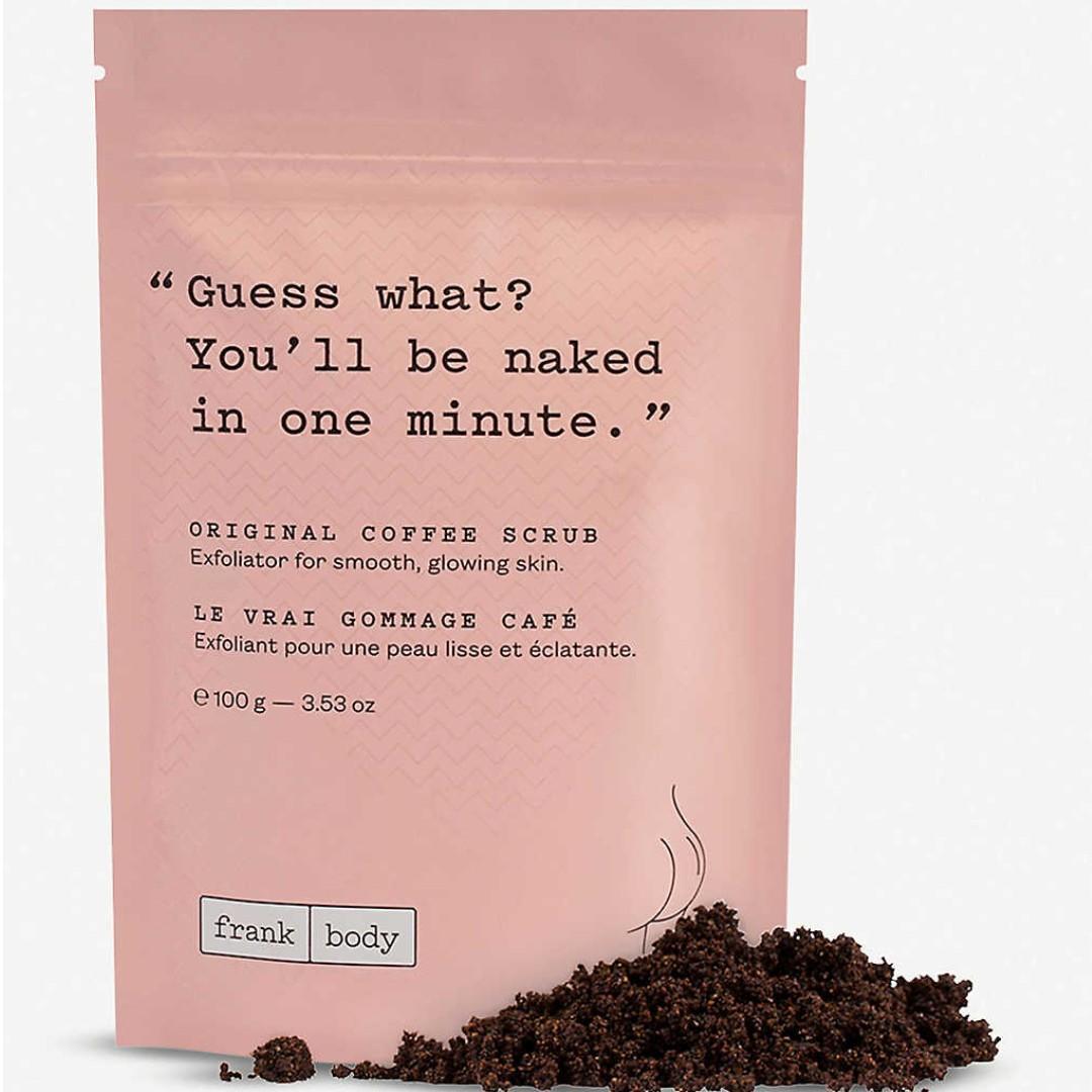 Скраб кофейный для тела Frank Body Coffee Scrub 100гр