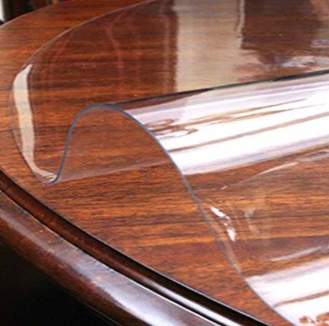 Скатерть круглая прозрачная  102 см. 2 мм.