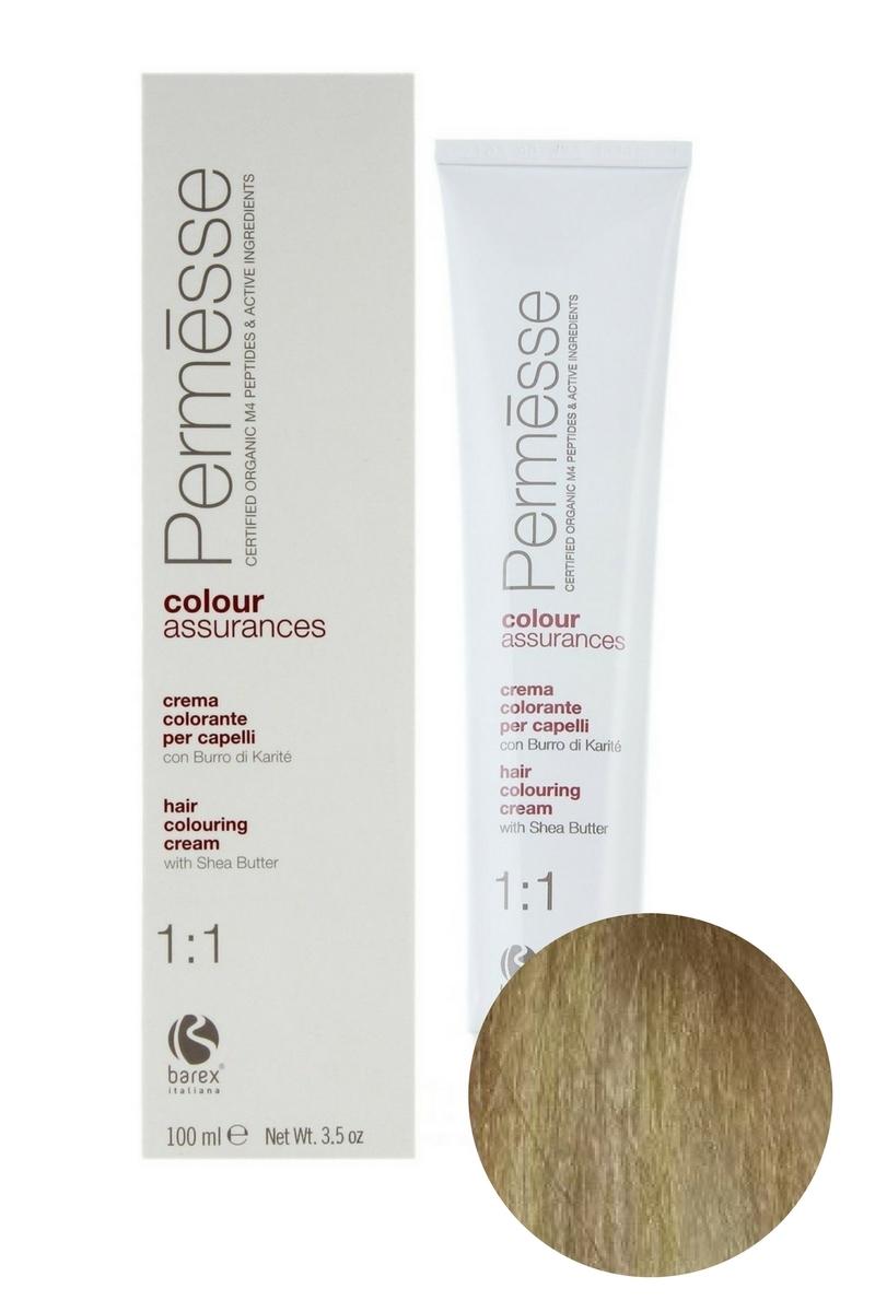 Крем-краска для волос 10.1 Экстра блондин пепельный Permesse, Barex