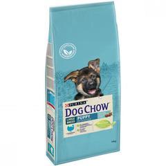 Сухой корм для щенков крупных пород, Purina Dog Chow, с индейкой