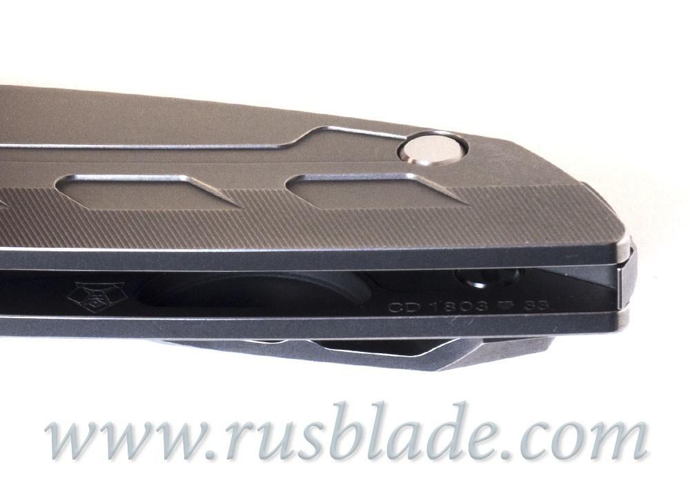 CUSTOM Shirogorov 111 Ti KNIFE S90V SRRBS