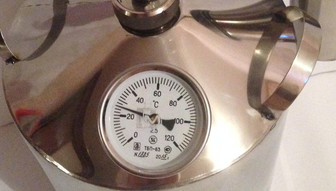 Фото - Самогонный аппарат Премиум, 12 л, с термометром самогонный аппарат премиум 12 л с термометром