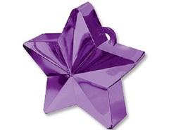 Грузик д/шара Звезда фиолетовая 170гр/A.
