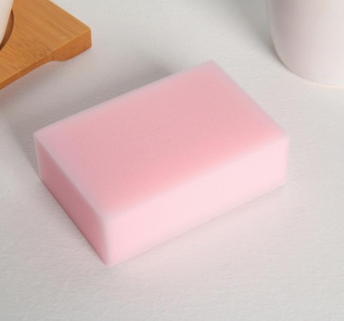 Чудо-губка меламиновая для удаления пятен «Розовая», 963 см фото