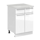 Кухня Капля 3D Шкаф нижний С2Я 600