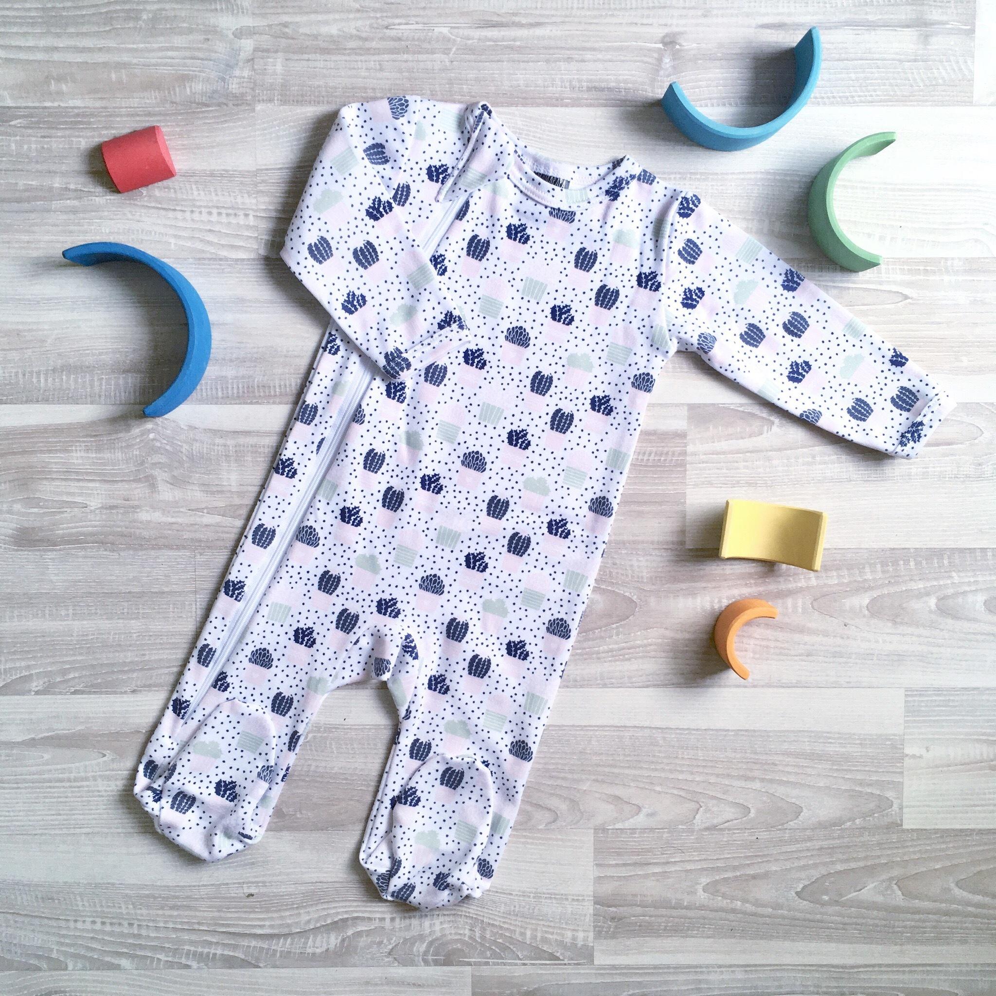 Комбинезон Mjölk  Sleep and Play Кактусы