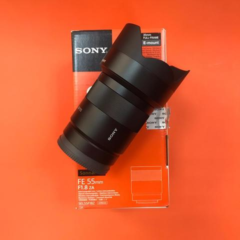 Sony 55mm f/1.8 Carl Zeiss  комиссия