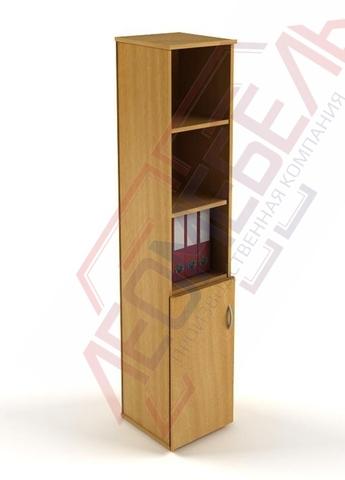 Ш-08 Шкаф узкий  офисный с распашной дверцей