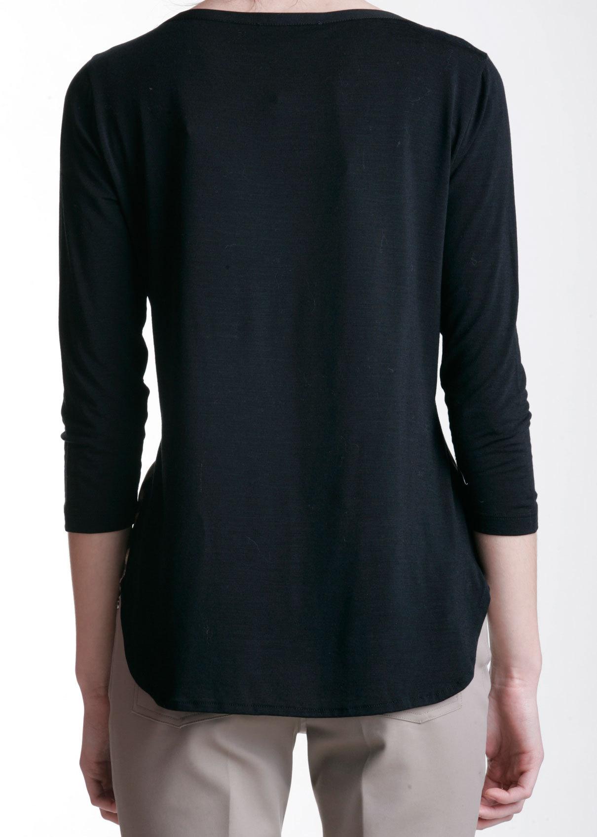 Блуза из шерсти и шелка ANGELO MARANI