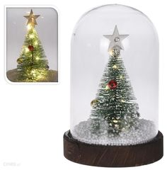 TREE IN DOME LED 17CM