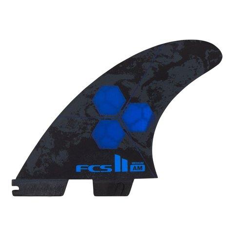 FCS II AM PC Tri-Quad Retail Fins Cobalt