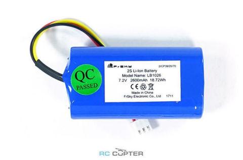 АКБ FrSky 2600mAh 7.2V Li-Ion battery для Taranis X7/X10