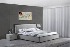 Кровать C1032 200x180 — серый