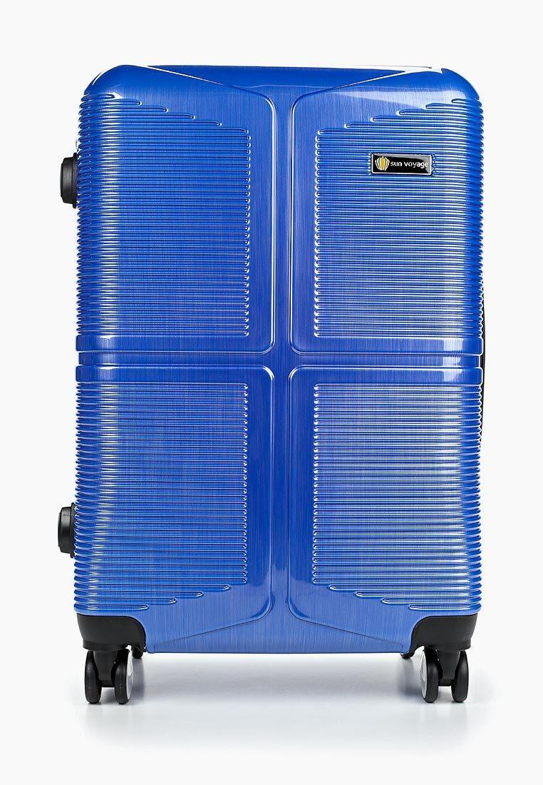 Чемодан SunVoyage SV041-AC100 Персидский фиолетовый (М+)