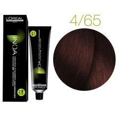 L'Oreal Professionnel INOA 4.65 (Шатен красный красное дерево) - Краска для волос