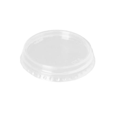 Крышка для стакана 95 мм пластиковая прозрачная 50 штук в упаковке