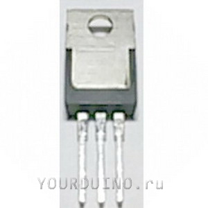 LM2931T-5.0, Регулятор (стабилизатор) с фиксируемым напряжением 5В, с защитой нагрузки от перенапряжения 60В, ток выхода 100мА.