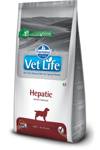 Сухой ветеринарный корм Farmina Vet Life Dog Hepatic