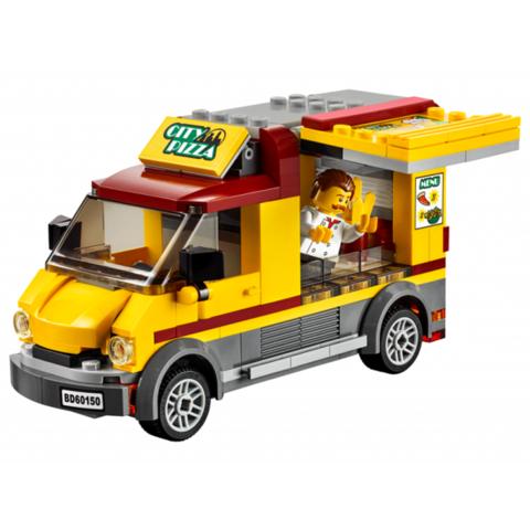 LEGO City: Фургон-пиццерия 60150 — Pizza Van — Лего Город Сити