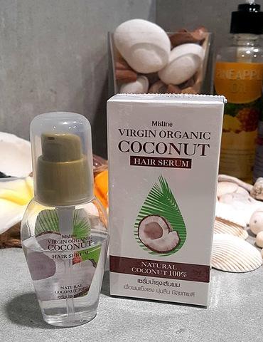 Кокосовая сыворотка для волос с кератином, Mistine