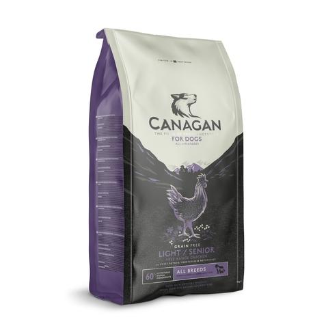 Сухой корм Canagan Grain Free Light/Senior для пожилых собак с избыточным весом