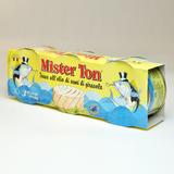 Тунец Yellowfin в подсолнечном масле т.м. Mister Ton 3*80 г