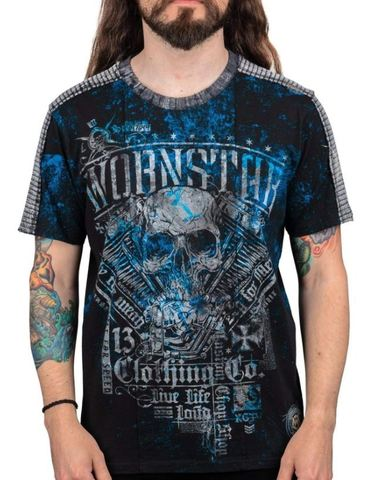 Футболка Wornstar DEVIL'S ENGINE TEE