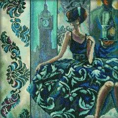 Набор для вышивания Триш Биддл - Эффектные женщины в роскошных местах