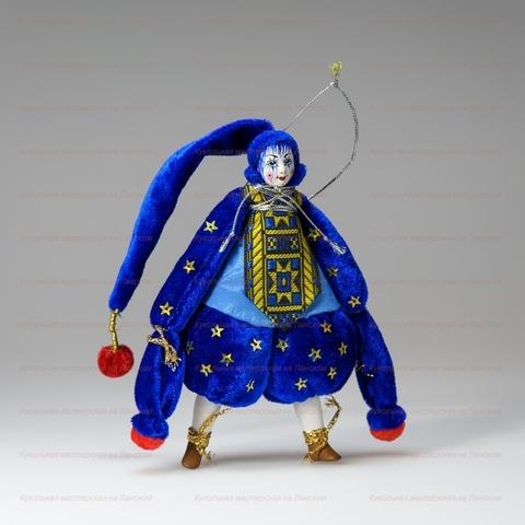 Клоун - подвесная игрушка ручной работы