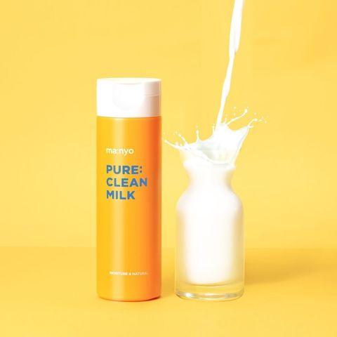 Молочко для снятия макияжа и умывания, 200 мл / Manyo Pure Cleansing Milk