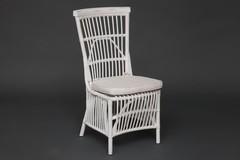 Стул Secret De Maison Ривьера (RIVIERA) с подушкой — белый+натуральный дистресс