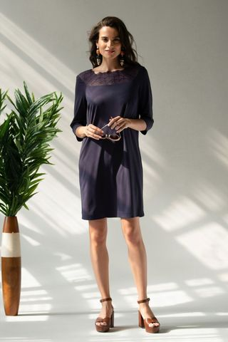 Платье 60419-2 фиолетовый Laete