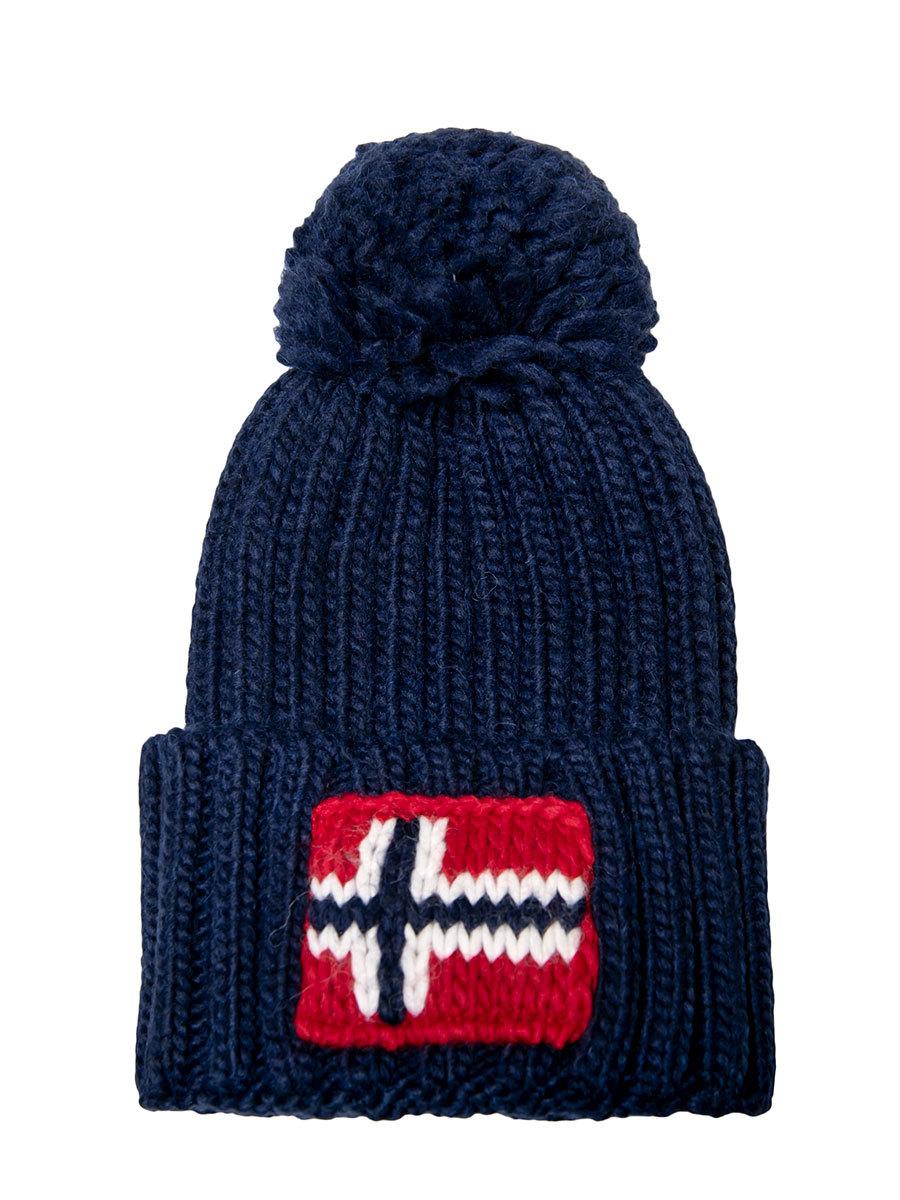 Napapijri шапка Semiury 3 синий - Фото 1