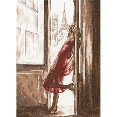 Набор для вышивания Утро в Париже