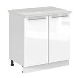 Кухня Капля 3D Шкаф нижний С 800