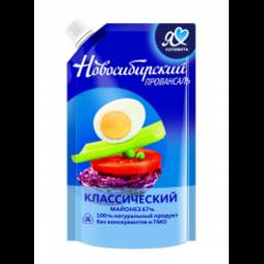 """Майонез """"Новосибирский Провансаль"""" 67% 400мл"""