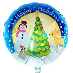 Новый год Снеговик у елки