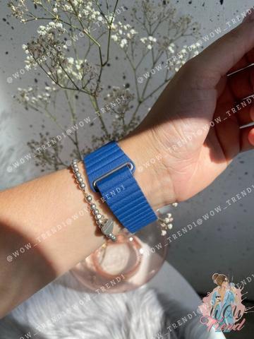 Ремешок Apple watch 42/44mm Leather Loop /midnight blue/