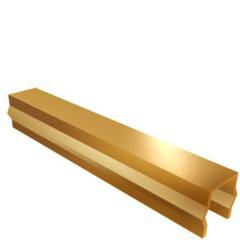 ЛЮМСВЕТ Вставка декоративная для GL и GP VS-2 золото (3м)
