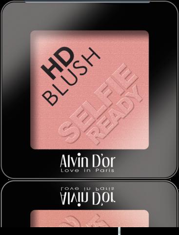 Alvin D`or B-2 Румяна пудровые HD Blush selfie ready 6гр (тон 03)