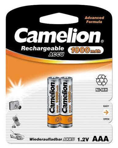 Аккумуляторы CAMELION R 03/2bl 1000 mAh Ni-MH