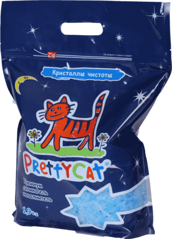 PRETTY CAT FILLER SILICA GEL CRYSTALS PURITY