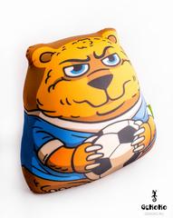Подушка-игрушка антистресс «Медведь-футболист» 3