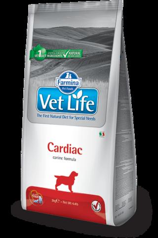 Сухой ветеринарный корм Farmina Vet Life Dog Cardiac