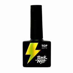 Топ матовый RockNail Matte Top, 10мл.