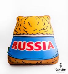 Подушка-игрушка антистресс «Медведь-футболист» 4